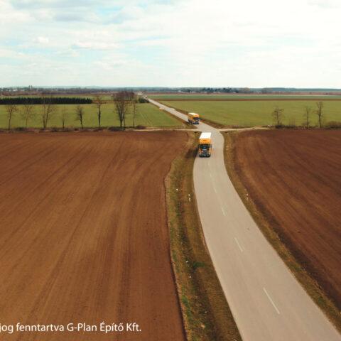 Bólyi Ipari Park fejlesztése IV. ütem keretében elkerülő út építése